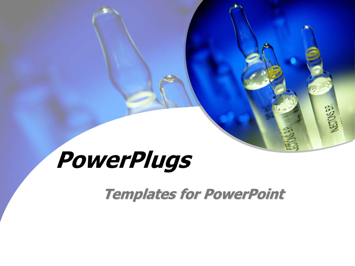 Powerpoint Template Science Lab Experiment