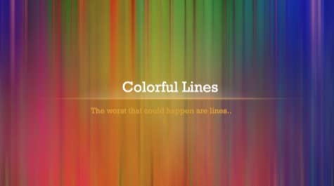 Colorful Linear Lines PowerPoint Background 1 Colorful PowerPoint Backgrounds