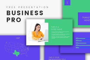 Business Pro Free Powerpoint Template