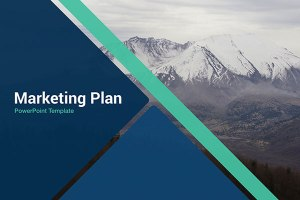 Marketing Plan Free Powerpoint Template