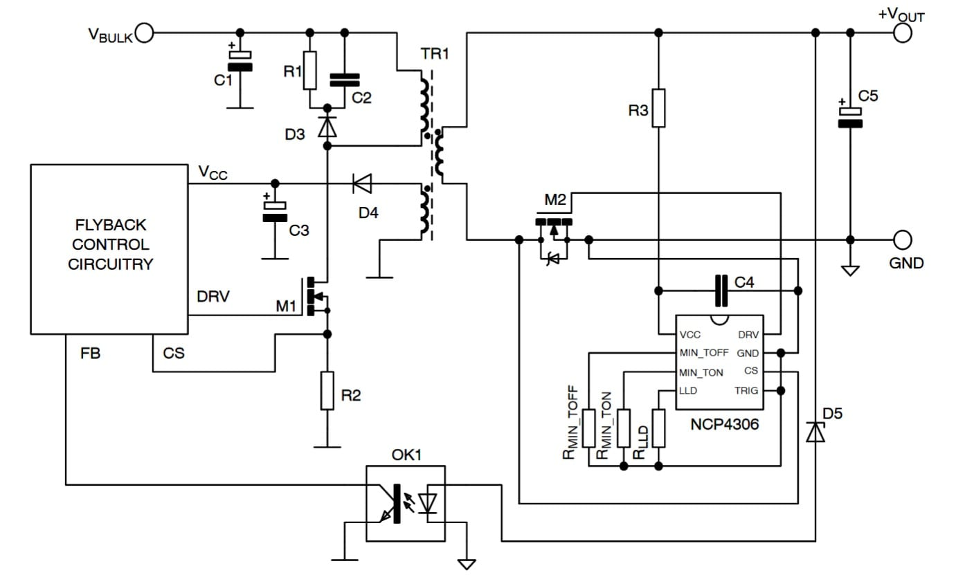 Secondary Side Synchronous Rectification Driver For High