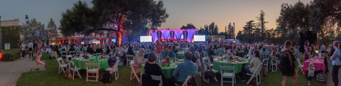 MUSE/IQUE SUMMER CONCERTS - SUMMER AT THE HUNTINGTON 2019 - U.S./ROUTES - LIGHTING
