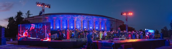MUSE/IQUE SUMMER CONCERTS - SUMMER AT THE HUNTINGTON 2019 - LIGHTING