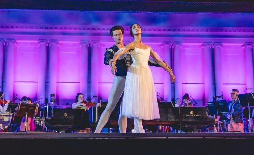 MUSE/IQUE DANCE PERFORMANCES - BAND/TOGETHER - FEATURING THE AMERICAN BALLET THEATRE - LIGHTING