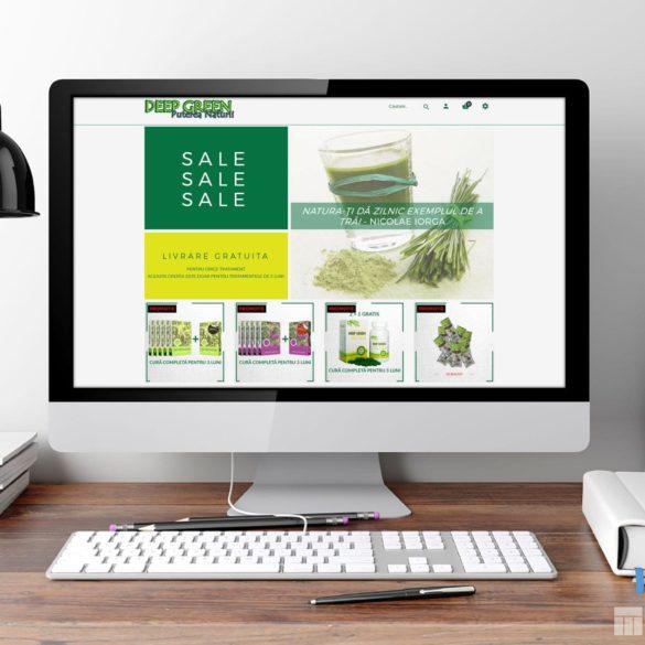 Web Design Bucuresti - Deep Green (deepgreen.ro)