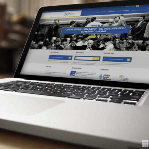 Web Design Bucuresti - Institutul de Studii Populare (isp.org.ro)