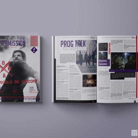 Web Design Bucuresti - The Intermission Magazine No2