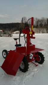 Powersplit Buggy wood splitter 10