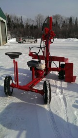 Powersplit Buggy wood splitter 6