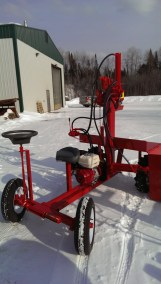 Powersplit Buggy wood splitter 8