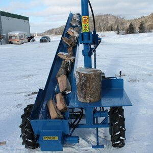 single vertical splitter thumbnail Woodsplitter, Wood Splitter, Firewood Splitter, Log Splitter, Log Lift, Firewood Conveyor