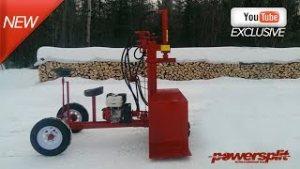 %name Powersplit Self Propelled Wood Splitter Buggy