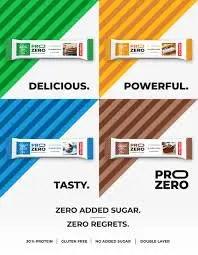 מארז חטיפי חלבון Pro Zero מופחת סוכר