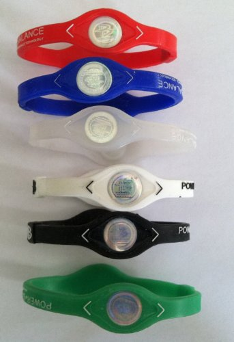 1-Dozen-Power-Balance-Ion-Titanium-BaseballSports-Power-Bands-CLOSEOUT-PRICE-1-Dozen-L-mix-0