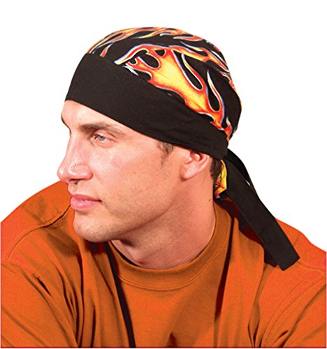 12PCK-Deluxe-Tie-Hat-W-Elastic-FLAMES-One-Size-0