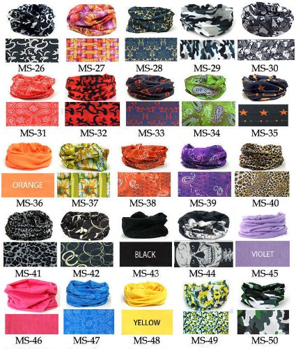 4-Seasons-NECK-Headband-Bandana-MULTI-SCARF-WARMER-USE-TUBE-MASK-CAP-15-pcs-0-1