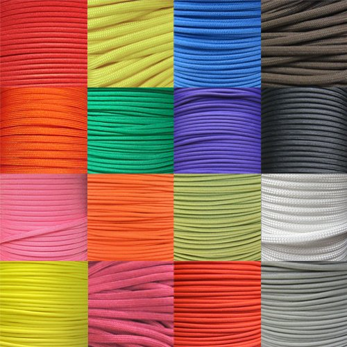 550LB-7-Strand-Parachute-Cord-Available-in-10-25-50-100-250-1000-FT-Selections-in-Solid-Colors-0