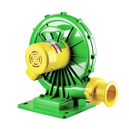 B-AIR-Koala-1-HP-Bounce-House-Blower-Green-0
