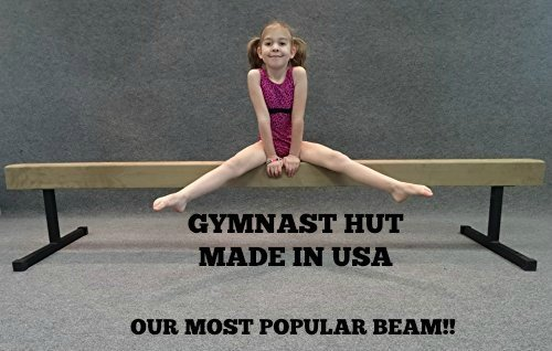 Balance-Beam-BB8-12-Padded-Suede-8-Foot-Balance-Beam-Tan-with-12-Riser-Legs-0