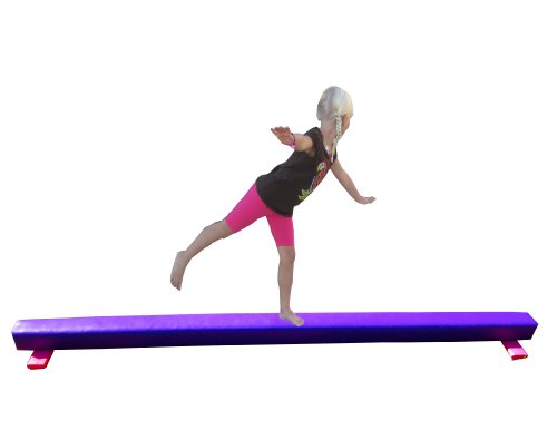Balance-Beam-Purple-8-Foot-Long-65-High-0