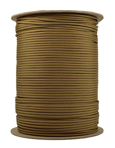 BoredParacord-Brand-Paracord-1000-ft-Spool-Coyote-Brown-0