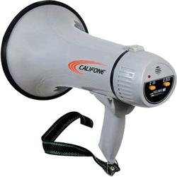 Califone-Pa-15-15-Watt-Megaphone-with-effective-range-of-up-to-1000-feet-ABS-plastic-construction-for-all-weather-use-and-durabilit-Built-in-electret-microphone-Choice-of-voice-siren-operation-Volume–0