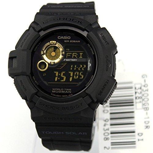 Casio-G-Shock-Mudman-Solar-Black-Dial-Mens-Watch-G9300GB-1-0-0