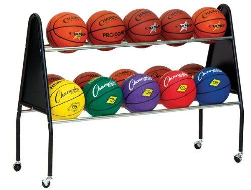 Champion-Sports-Ball-Cart-15-Ball-Capacity-Black-0