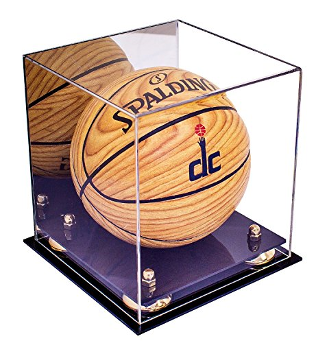 Deluxe-Acrylic-Collectible-Mini-Basketball-Display-Case-with-UV-Protection-0