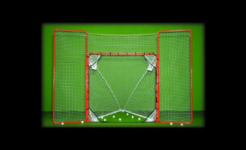 EZGoal-Lacrosse-Folding-Goal-with-Backstop-and-Targets-Orange-0