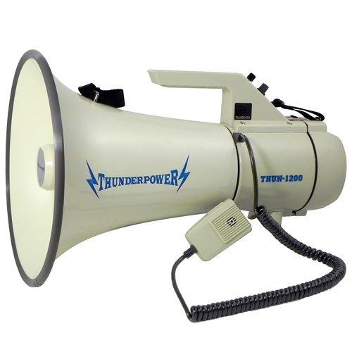 Extra-Loud-Heavy-Duty-Megaphone-ThunderPower-1200-45-Watts-of-Power-0
