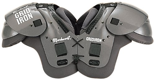 Football-Shoulder-Pads-High-Impact-25mm-Padding-with-Strong-Secure-Grid-Lock-Lacing-System-10-Youth-Adult-Sizes-0