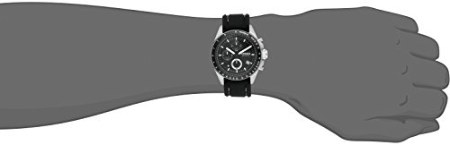 Fossil-Mens-CH2573-Decker-Stainless-Steel-Chronograph-Watch-With-Black-Silicon-Band-0-0