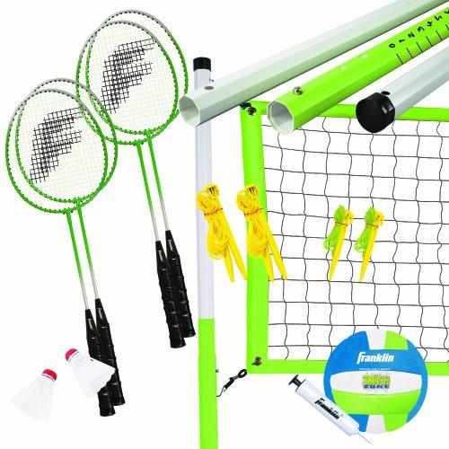 Franklin-Sports-Intermediate-BadmintonVolleyball-Set-0
