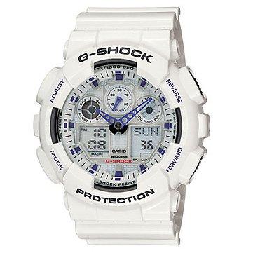 G-Shock-GA100A-7A-Classic-Series-Designer-Watches-White-0-0