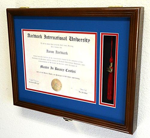 Graduation-Diploma-and-Tassel-Frame-Display-Case-Holder-11-x-85-wCustom-Matting-0-0