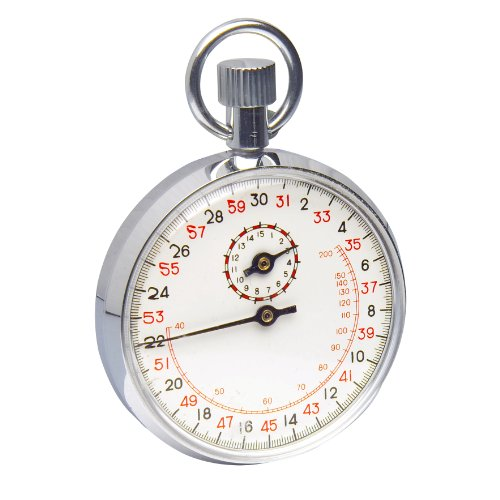 H-B-Instrument-Durac-Analog-Stopwatch-with-Crown-Stopper-Copper-Chromium-Plated-0
