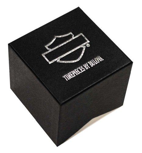 Harley-Davidson-Bulova-Menss-Bar-Shield-Logo-Watch-Tried-0-0