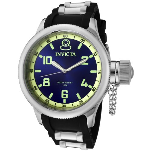 Invicta-Mens-1434-Russian-Diver-Blue-Dial-Stainless-Steel-Watch-0-0