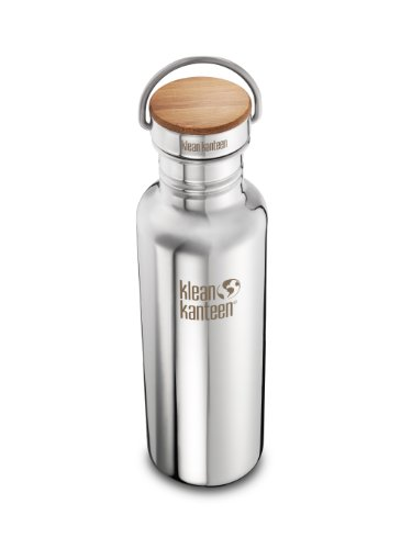 Klean-Kanteen-Reflect-Stainless-Steel-27-Ounce-Water-Bottle-with-Bamboo-Cap-0-0