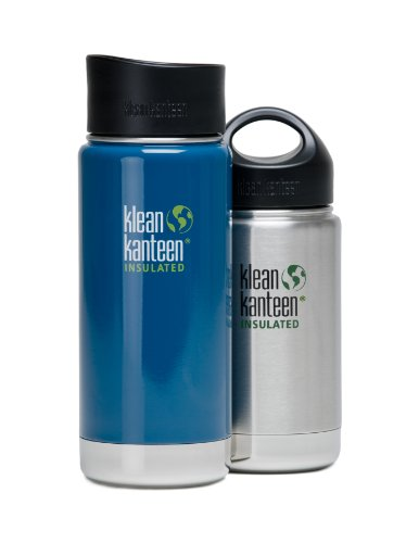 Klean-Kanteen-Wide-Mouth-Water-Bottle-with-Loop-Cap-0-1
