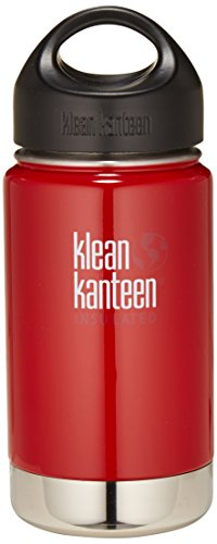 Klean-Kanteen-Wide-Mouth-Water-Bottle-with-Loop-Cap-0