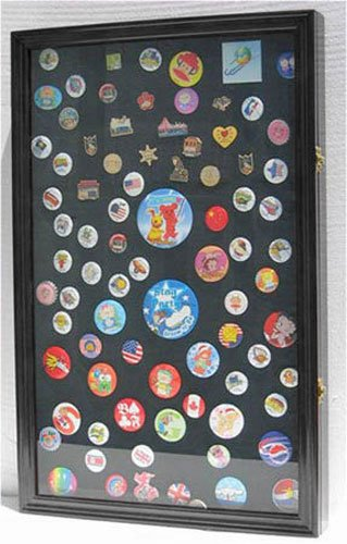 LARGE-Pin-Display-Case-Shadow-Box-Flag-Display-Case-with-Glass-Door-Black-PC04-BL-0