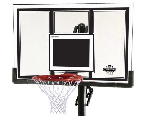 Lifetime-71525-Height-Adjustable-In-Ground-Basketball-System-54-Inch-Shatterproof-Backboard-0-0