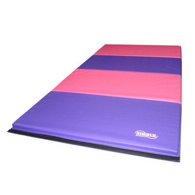Little-Gym-Adjustable-Horizontal-Bar-Purple-Low-Balance-Beam-PinkPurple-Gymnastics-Folding-Mat-0-1