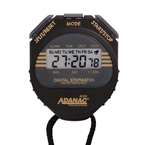 MARATHON-Adanac-4000-Digital-Stopwatch-Timer-with-Extra-Large-Display-and-Buttons-Water-Resistant-One-Year-Warranty-0