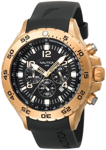 Nautica-Mens-N18523G-NST-Gold-Tone-Stainless-Steel-Dress-Watch-0-0