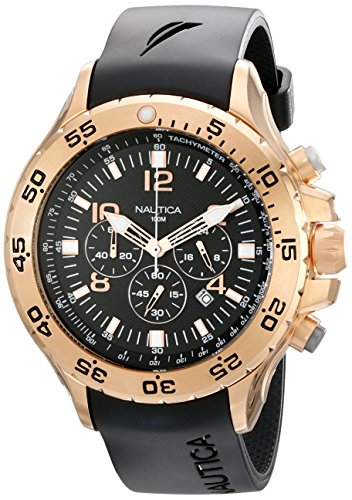 Nautica-Mens-N18523G-NST-Gold-Tone-Stainless-Steel-Dress-Watch-0