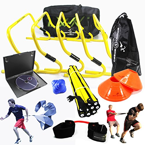 New-Speed-and-Agility-Training-Kit-with-Free-Carry-Bag-and-DVD-0