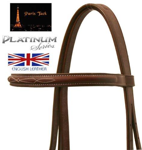 Paris-Tack-Fancy-Stitch-Bridle-with-Flash-Laced-Reins-Platinum-Series-Full-Havana-0-0